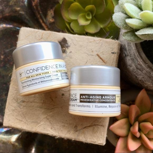 It cosmetics anti aging DUO cream and eye cream